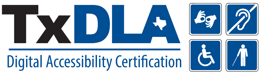 TxDLA Digital Accessibility Certification